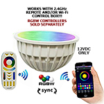 Superchip™ Exclusive 12V AC/DC RGBW LED Module Bulb -  Wifi / RF, Syncable