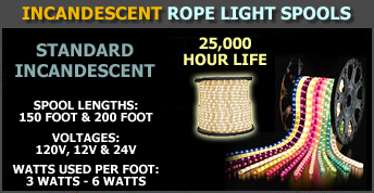 Rope light commercial grade rope light incandescent and led huge selection mozeypictures Choice Image
