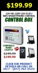 Superchip™ Exclusive RGB+White WiFi Control Box, Syncable, Controls Many Lights, 4-Zones